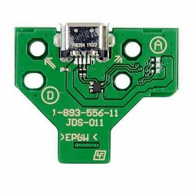 3X(2 Pin USB Charging Port Socket Board JDS-011 For Sony PS4 Controller B5W3)