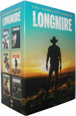 LONGMIRE Complete Series Collection Seasons 1-6 DVD Season 1 2 3 4 5 6 - 1-5 + 6