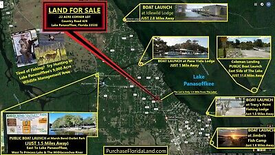 Home Lot .25 Mile to Lake Panasoffkee Florida - Near The Villages in Sumter Cnty