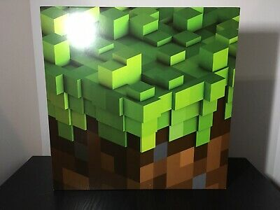 MINECRAFT VOLUME ALPHA by C418 2x LTD. GREEN COLORED VINYL LP