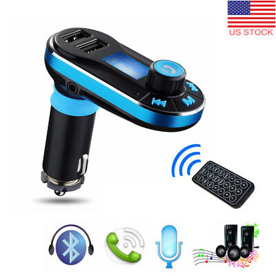 US Wireless Bluetooth In Car FM Transmitter MP3 Radio Adapter Kit USB Charger XR