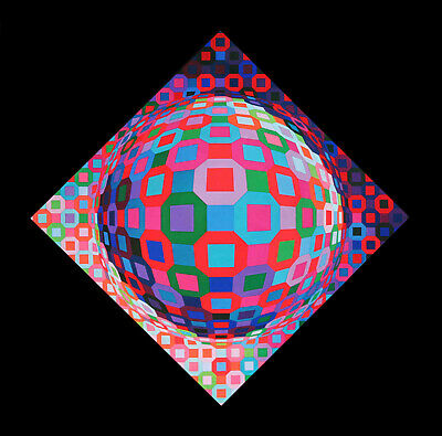 Victor Vasarely PLANETARY, 1974