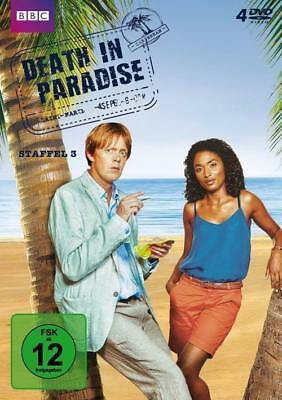 Death In Paradise, 4 DVDs. Staffel.3 -NEU- OVP-