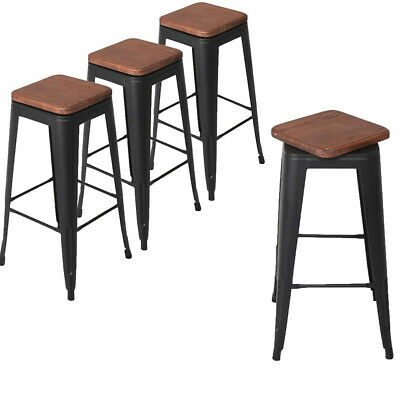 Awesome Set Of 4 Swivel Bar Stool Counter Height Metal Bar Stools Caraccident5 Cool Chair Designs And Ideas Caraccident5Info
