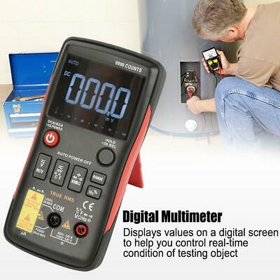 ANENG Q1 True-RMS Digital Multimeter Button 9999 Counts With Test Probe 0 - 40 ℃