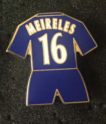 Rare Old Chelsea Player Meireles 16  Enamel Pin Badge