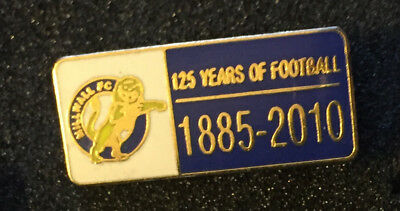 Rare Millwall 125 Years Of Football Enamel Pin Badge