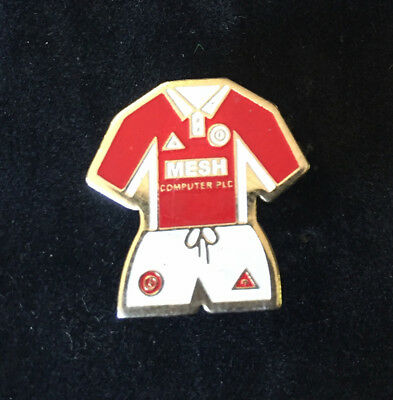 Rare Old Charltion Athletic Home Kit Enamel Pin Badge