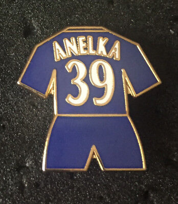 Rare Old Chelsea Player Anelka 39  Enamel Pin Badge