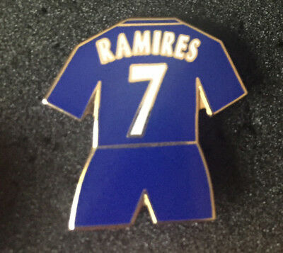 Rare Old Chelsea Player Ramires 7  Enamel Pin Badge