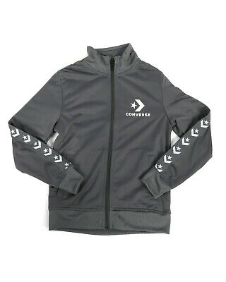 Tricot Taping Track Jacket by Converse (Dark Grey)