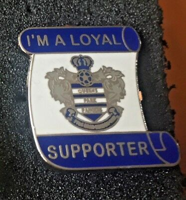 Rare Queens Park Rangers Qpr Loyal Supporter Enamel Pin Badge