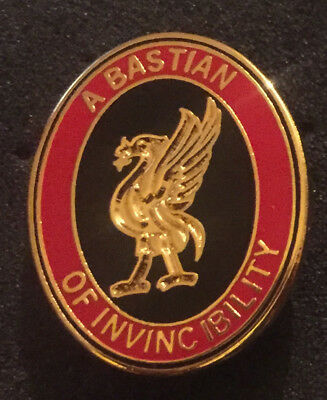 Rare Liverpool A Bastian Of Invincibility Enamel Pin Badge