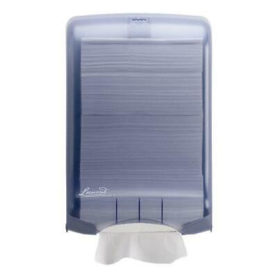 Leonardo Large Blue M Fold Hand Towel Dispenser 750 Sheet Capacity DSHA03