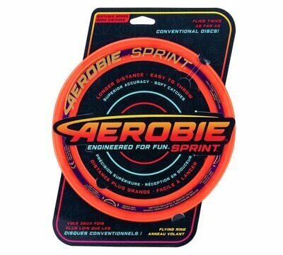 Aerobie Sprint 10 Inch Flying Ring Soft Edges Are Easy To Throw And Soft NEW_UK