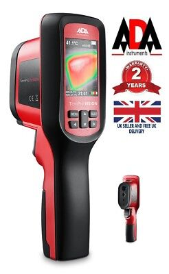 Digital Thermal Imaging Camera Infrared Thermometer + SD-Card ADA Tempro Vision