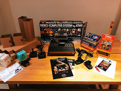 Atari 2600 VCS with Brand New Console Packaging. Perfect Condition!