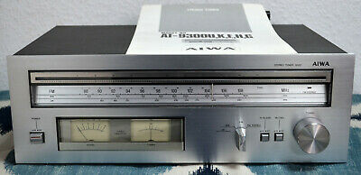 Vintage Aiwa AT 9300K Stereo Tuner with Original Instructions