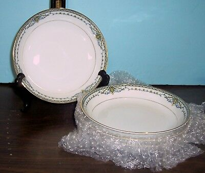 """Lot Of 4 Noritake The Venice Soup Bowl 7 3/8""""  Never Used Free Us Shipping"""
