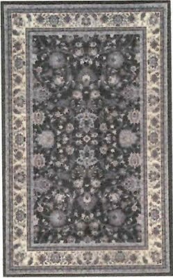 """1:48 Scale Dollhouse Area Rug 0001937 - approximately 1-3/4"""" x 2-7/8"""""""