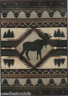 """1:24 Scale Dollhouse Area Rug approximately 3-15/16"""" x 5-5/8"""" - 0000645"""