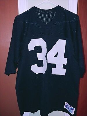 Vintage Champion Los Angeles Raiders X-Large Jersey Number 34 Bo Jackson 8204891b0