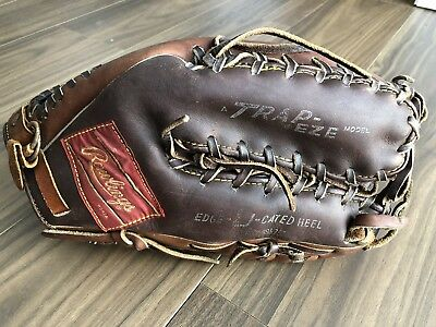 Rawlings Baseball Glove Playmaker series Four-Finger Trapeze 1974 USED
