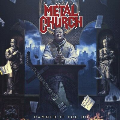 Metal Church Damned If You Do Cd Nuovo