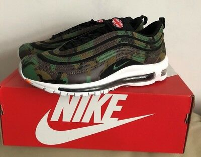 Nike Air Max 97 Premium Qs Country Camo Uk (Aj2614 201) Men Trainer Various 1e5927acc