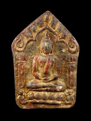 Magic Powder PHRA KHUNPHAN LP Tim Wat Lahanrai Takrut Thai Amulet