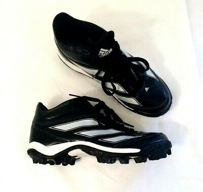 brand new face0 93809 Adidas ART G47816 D Mens Football Cleat Shoes Black wWhite Stripe SizeUS