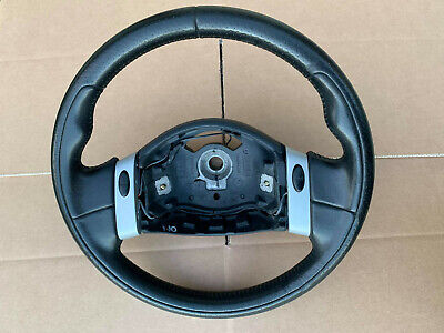 Bmw Mini Cooper One Pepper R50 R51 R52 R53 Volante In Pelle Traforata Originale