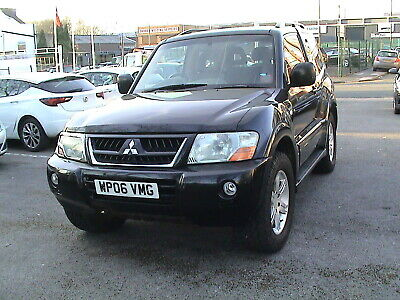 MITSUBISHI SHOGUN WARRIOR 3.2 DI-D AUTO in excellent working order