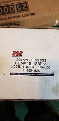 SDC Delayed Egress Magnet Brand NEW!!  MODEL 1511SBDK 12/24 DC.   2 available