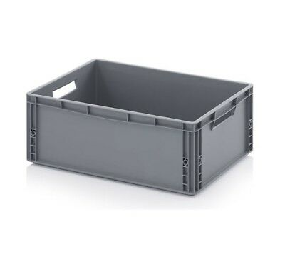 Euro Containers 60x40x22 45l Stacking Storage Box Eurobox Stackable 600x400x220