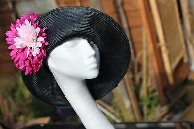 WOW! Vintage 30's 40's style Hat/Formal/Mother of Bride/Ascot,Wedding