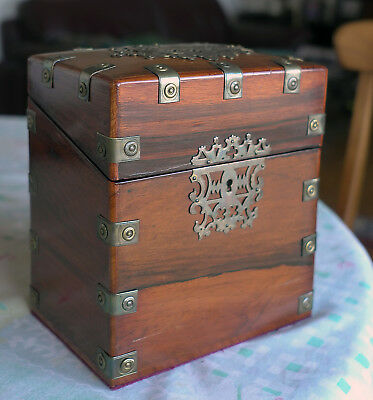 Antique wooden box handmade