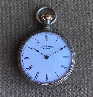 Am Watch.Co. Waltham Mass. 6 Size Antique Woman`s Pocket Watch ca.1887