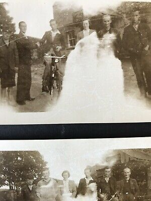 Vintage PHOTOGRAPH - GHOST Exposed On Photograph