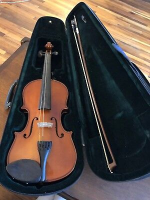 Violin And Bow With Case , 4/4, Model 6104,