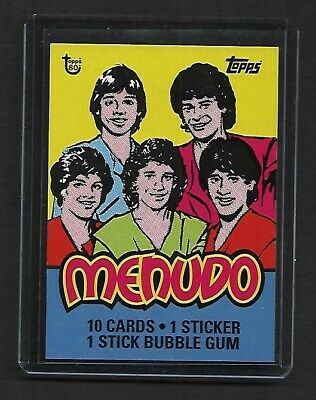 2018 Topps 80th Anniversary Wrapper Art  #92 1983 MENUDO - SOLD OUT!