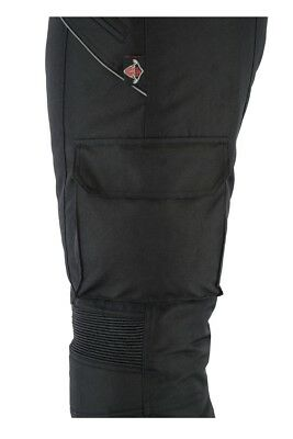 Texpeed Black Waterproof Armoured Trousers , Size W44 L34