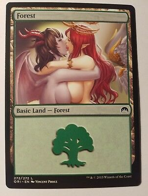 Custom Basic Land non-foil MTG card altered art 1x Full Art Mountain