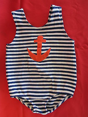 CooL Vintage Carter's Toddler Baby 4T Bathing Suit Swim Sailor Swimming Suit