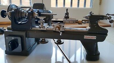 Lorch KD50 8mm High Precision Watchmakers Lathe With Cross Slide, Good Condition