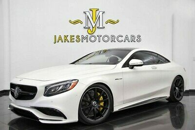 2016 Mercedes-Benz S-Class S63 AMG DESIGNO COUPE ($186,805 MSRP!)~MATTE WHITE 2016 MERCEDES S63 AMG COUPE DESIGNO~$186,805 MSRP!~FACTORY MATTE WHITE~15K MILES