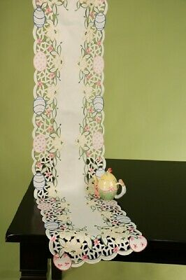 "Bright Easter Bouquet 65"" Table Runner from Wimpole Street Creations"