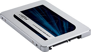 Crucial MX500 500GB SATA 2.5in 7mm 3D NAND SSD Up To 560MB/s Read, 510MB/s Write
