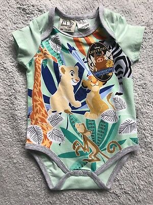 Peter Alexander Unisex Lion King Baby One Piece Size 3-6 Months RRP$49.95