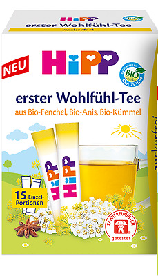 Hipp Baby Fennel Anise & Caraway Tea x15 Healthy drink for babies SALE!!!